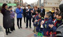世界冠军赵菁走进渭南北塘实验小学 分享励志正能量(高清组图)