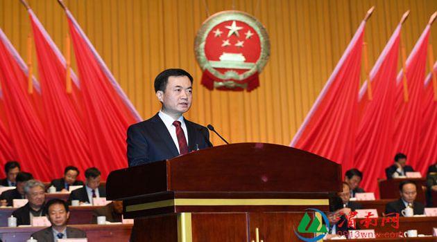 渭南市第五届人民代表大会第四次会议隆重开幕 代市长李毅作政府工作报告(高清组图)