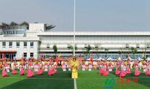 渭南市临渭区隆重举办2018年全区干部职工广播体操比赛(高清组图)