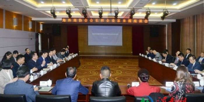 海外商协会会长和企业家访问渭南市(高清组图)