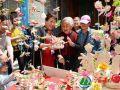渭南:花馍艺术节上放光彩 民俗文化传承再发展(高清组图)