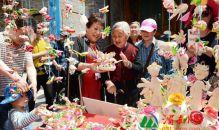 渭南:花饃藝術節上放光彩 民俗文化傳承再發展(高清組圖)
